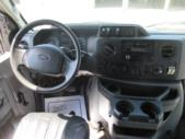 2012 Eldorado Ford 20 Passenger Shuttle Bus Interior-06712-11