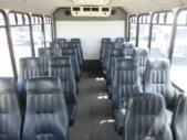 2012 Eldorado Ford 20 Passenger Shuttle Bus Front exterior-06712-7