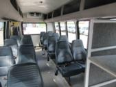 2005 Turtle Top Ford 16 Passenger and 1 Wheelchair Shuttle Bus Rear exterior-07469-8