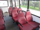 2010 Goshen Coach Ford 12 Passenger and 2 Wheelchair Shuttle Bus Rear exterior-07963-8