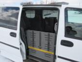 2007 Uplander Chevrolet 3 Passenger and 1 Wheelchair Van Side exterior-07974-6