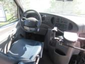 2005 Glaval Ford 16 Passenger and 2 Wheelchair Shuttle Bus Interior-08217-12