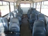 2005 Glaval Ford 16 Passenger and 2 Wheelchair Shuttle Bus Front exterior-08217-7