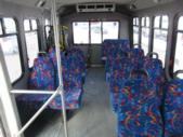 2007 Diamond Ford 11 Passenger and 2 Wheelchair Shuttle Bus Side exterior-08225-6