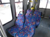 2007 Diamond Ford 11 Passenger and 2 Wheelchair Shuttle Bus Front exterior-08225-7