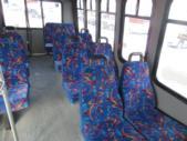 2007 Diamond Ford 11 Passenger and 2 Wheelchair Shuttle Bus Rear exterior-08225-8