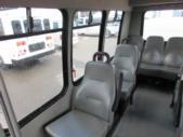 2011 Turtle Top Ford 14 Passenger Shuttle Bus Rear exterior-08243-8
