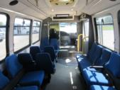 1998 General Coach Ford 13 Passenger and 2 Wheelchair Shuttle Bus Interior-08275-12