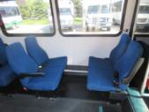 1998 General Coach Ford 13 Passenger and 2 Wheelchair Shuttle Bus Rear exterior-08275-8