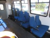 1998 General Coach Ford 13 Passenger and 2 Wheelchair Shuttle Bus Interior-08275-9