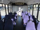 2007 Eldorado Ford 14 Passenger Shuttle Bus Side exterior-08419-5