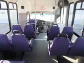 2007 Eldorado Ford 14 Passenger Shuttle Bus Front exterior-08419-7