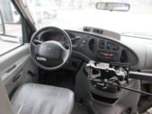 2007 Champion Ford 3 Passenger and 5 Wheelchair Shuttle Bus Interior-08437-10