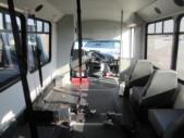 2007 Champion Ford 3 Passenger and 5 Wheelchair Shuttle Bus Side exterior-08438-5