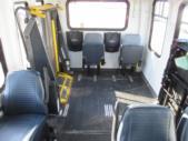 2007 Startrans Ford 8 Passenger and 2 Wheelchair Shuttle Bus Interior-08462-10
