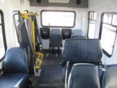 2007 Startrans Ford 8 Passenger and 2 Wheelchair Shuttle Bus Interior-08462-9