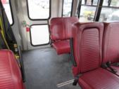 2006 Goshen Coach Ford 9 Passenger and 1 Wheelchair Shuttle Bus Interior-08468-9