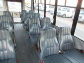 2008 Girardin GMC 14 Passenger Shuttle Bus Front exterior-08480-7