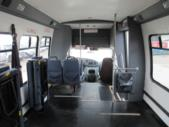 2003 Turtle Top Ford 3 Passenger and 5 Wheelchair Shuttle Bus Interior-08558-11