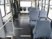 2003 Turtle Top Ford 3 Passenger and 5 Wheelchair Shuttle Bus Side exterior-08558-6