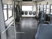 2003 Turtle Top Ford 3 Passenger and 5 Wheelchair Shuttle Bus Front exterior-08558-7
