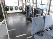 2003 Turtle Top Ford 3 Passenger and 5 Wheelchair Shuttle Bus Interior-08558-9