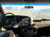 2000 Savana 2500 GMC 9 Passenger Van Rear exterior-08625-8