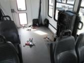 2008 Startrans Ford 12 Passenger and 2 Wheelchair Shuttle Bus Interior-08647-10