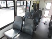 2008 Startrans Ford 12 Passenger and 2 Wheelchair Shuttle Bus Front exterior-08647-7