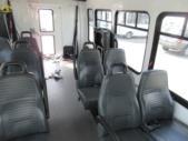 2008 Startrans Ford 12 Passenger and 2 Wheelchair Shuttle Bus Rear exterior-08647-8