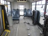2006 Champion Ford 10 Passenger and 3 Wheelchair Shuttle Bus Rear exterior-08656-8