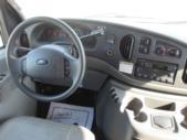 2004 Ameritrans Ford 12 Passenger and 2 Wheelchair Shuttle Bus Interior-08803-12