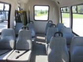 2004 Ameritrans Ford 12 Passenger and 2 Wheelchair Shuttle Bus Rear exterior-08803-8