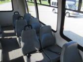 2004 Ameritrans Ford 12 Passenger and 2 Wheelchair Shuttle Bus Interior-08803-9