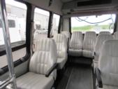2001 Turtle Top Ford 14 Passenger Shuttle Bus Interior-08853-9