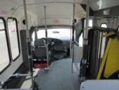 2004 Eldorado Ford 9 Passenger and 1 Wheelchair Shuttle Bus Interior-08881-10