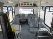 2004 Eldorado Ford 9 Passenger and 1 Wheelchair Shuttle Bus Side exterior-08881-6