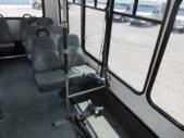 2004 Eldorado Ford 9 Passenger and 1 Wheelchair Shuttle Bus Front exterior-08881-7