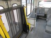 2004 Eldorado Ford 9 Passenger and 1 Wheelchair Shuttle Bus Rear exterior-08881-8