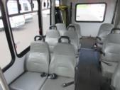2005 Goshen Coach Ford 12 Passenger and 2 Wheelchair Shuttle Bus Interior-08927-9