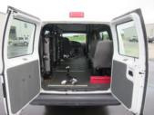 2006 Econoline Ford 2 Passenger and 3 Wheelchair Van Side exterior-09028-5