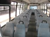 2009 Turtle Top Chevrolet 37 Passenger Shuttle Bus Front exterior-09069-7