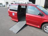 2006 Grand Caravan Dodge 4 Passenger and 1 Wheelchair Van Driver side exterior rear angle-09072-4
