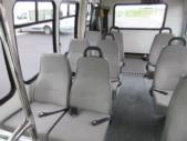 2000 Turtle Top Chevrolet 12 Passenger and 2 Wheelchair Shuttle Bus Interior-09109-11
