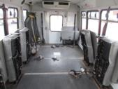 2004 Goshen Coach Ford 0 Passenger and 6 Wheelchair Shuttle Bus Interior-09181-10