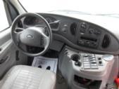 2004 Goshen Coach Ford 0 Passenger and 6 Wheelchair Shuttle Bus Interior-09181-13