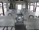 2004 Goshen Coach Ford 0 Passenger and 6 Wheelchair Shuttle Bus Front exterior-09181-7
