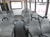 2009 Goshen Coach Ford 12 Passenger and 2 Wheelchair Shuttle Bus Interior-09216-10