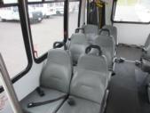 2009 Goshen Coach Ford 12 Passenger and 2 Wheelchair Shuttle Bus Interior-09216-11