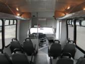 2009 Goshen Coach Ford 12 Passenger and 2 Wheelchair Shuttle Bus Interior-09216-16
